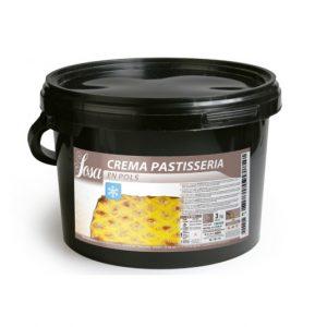 Crema de patiserie Rece pulbere, Sosa