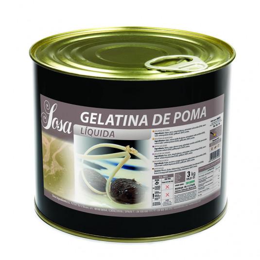 Gelatina de mere, Sosa