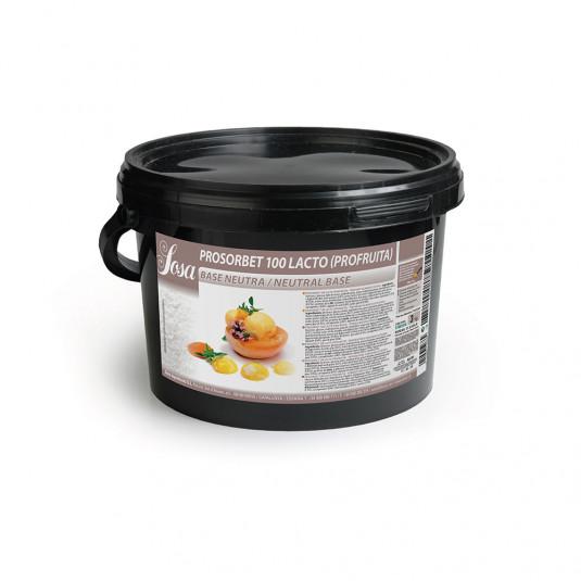 Prosorbet 100 lactoza (profruit), Sosa