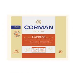 Unt Express 82% grasime foaie, Corman