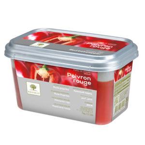 Ardei gras roșu - piure congelată Ravifruit