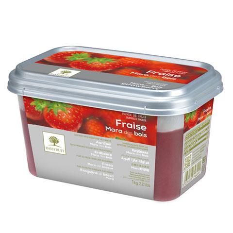Căpșuni Mara des Bois - piure congelată Ravifruit