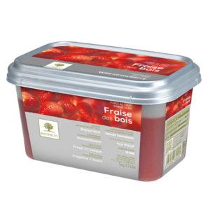 Căpșuni sălbatice - piure congelată Ravifruit
