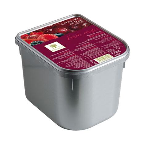 Compot de Fructe roșii congelat Ravifruit