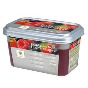 Fructe sălbatice și fructe roșii - piure congelată Ravifruit