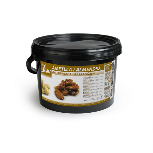 Migdale Garrapinada caramelizate dur (3 kg), Sosa