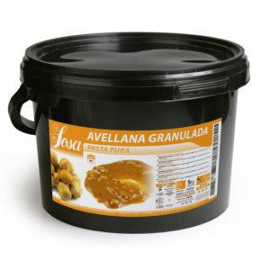 Pasta pura de alune granulate, Sosa