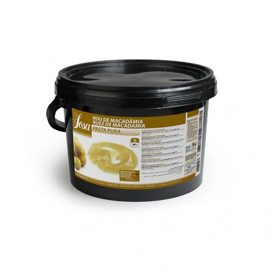 Pasta pura de nuca de macadamia, Sosa