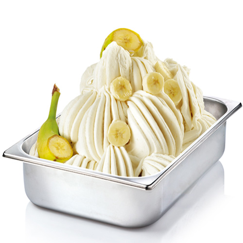Banana - pasta pentru pregatirea inghetatei
